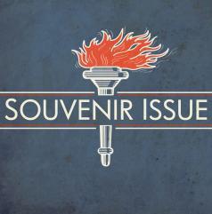 Album art design for Glasgow band Souvenir Issue.