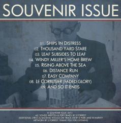 Cover art for Souvenir Issue